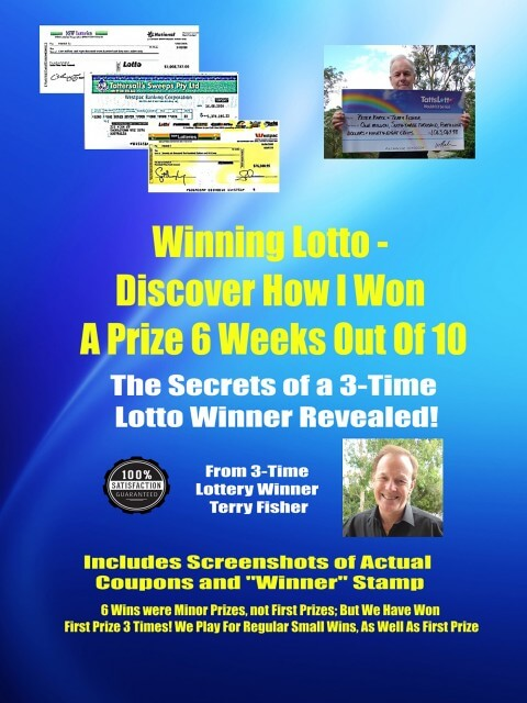 How I Won Lotto 6 Weeks Out Of 10